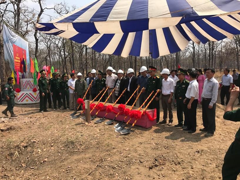 Đắk Lắk: Xây dựng cột mốc biên giới số 41 và 43